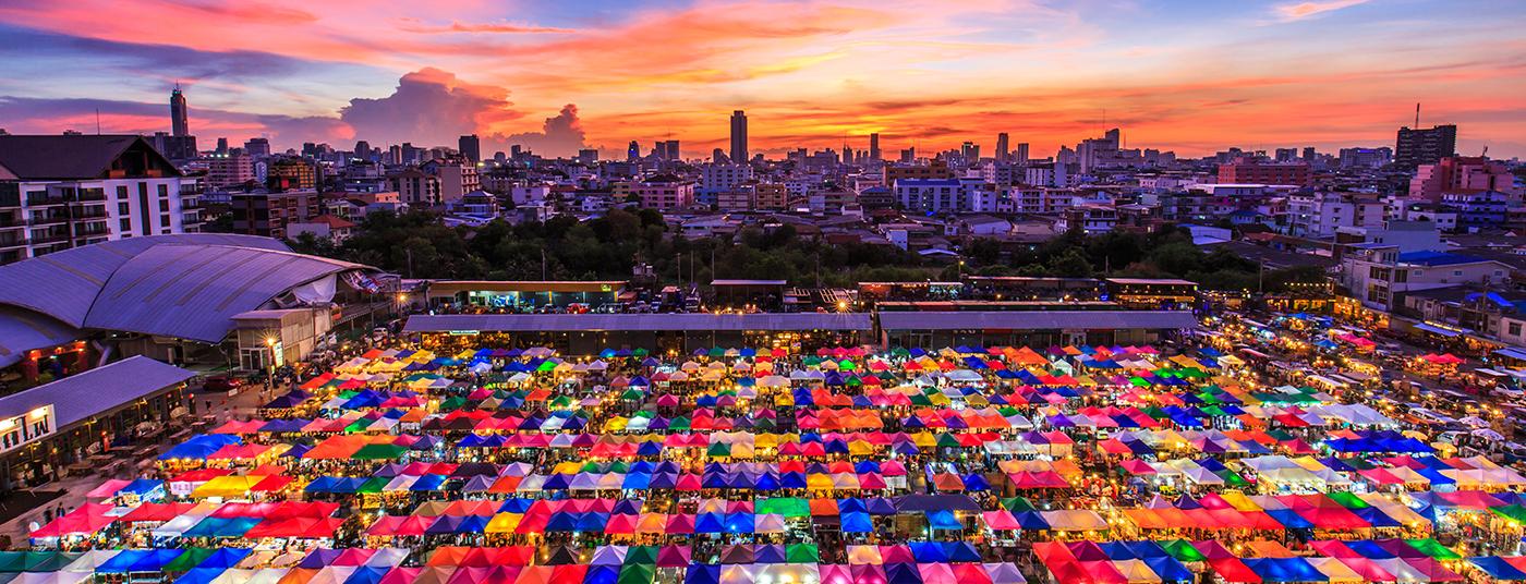 Bangkok markets <strong>inspire</strong> us