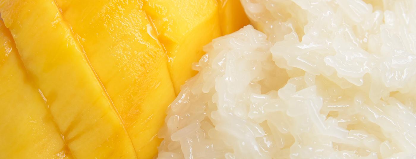 <strong>Mango Sticky Rice - ข้าวเหนียวมะม่วง </strong>